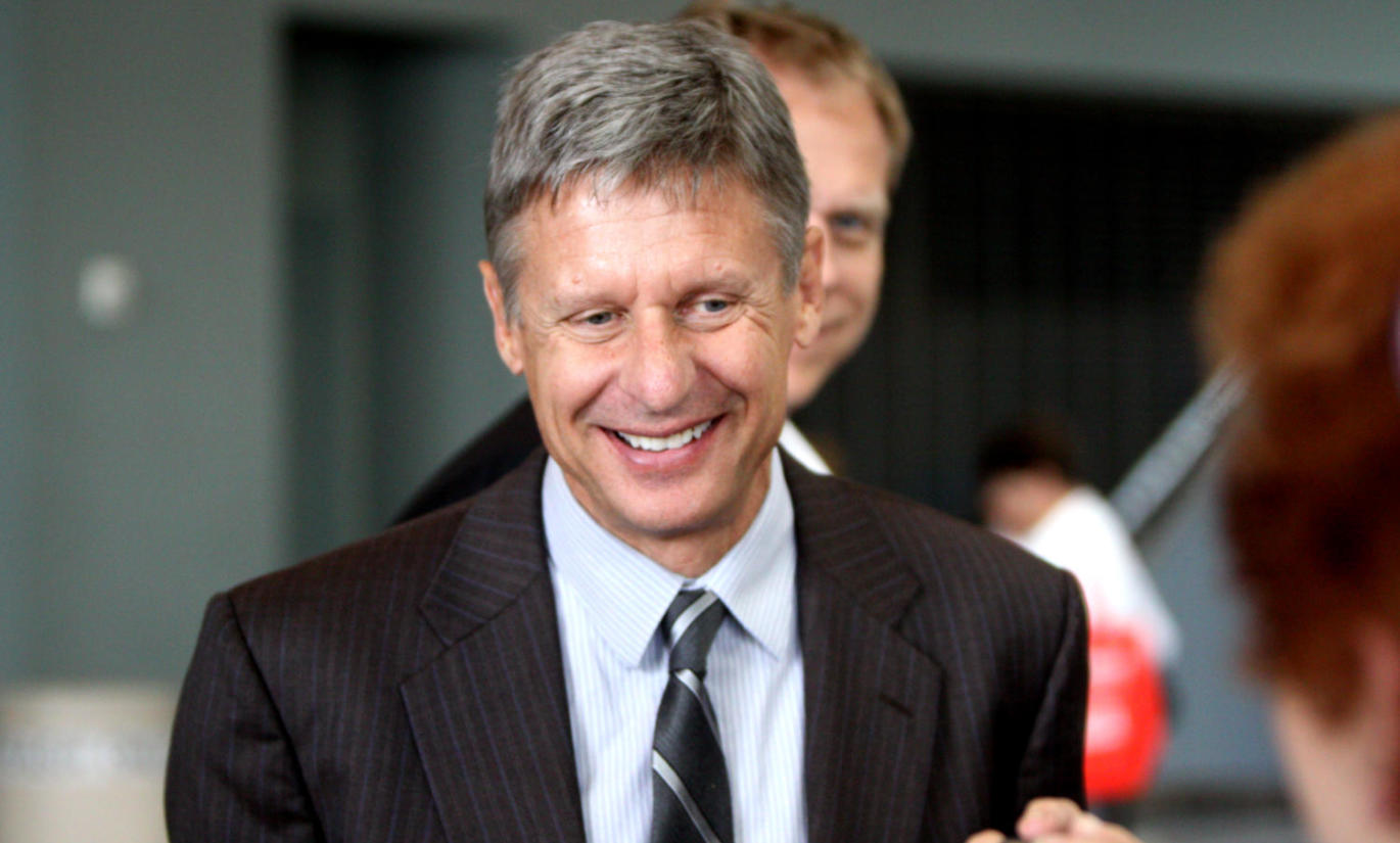 Gary Johnson at CPAC FL in Orlando, Florida - Photo by Gage Skidmore - CC BY-SA 2.0