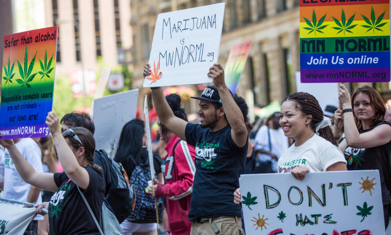 By Tony Webster from Minneapolis, MN, United States - Minnesota NORML — Don't Hate, Educate, Legalize / Twin Cities Pride Parade, CC BY-SA 2.0, https://commons.wikimedia.org/w/index.php?curid=39067602